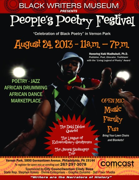 People's Poetry Festival 2013, Philadelphia