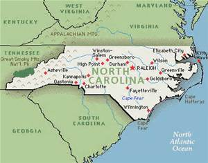 The troubles of North Carolina, USA
