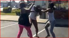 black girls fighting