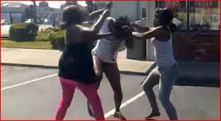 black girls fighting
