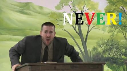preacher-never